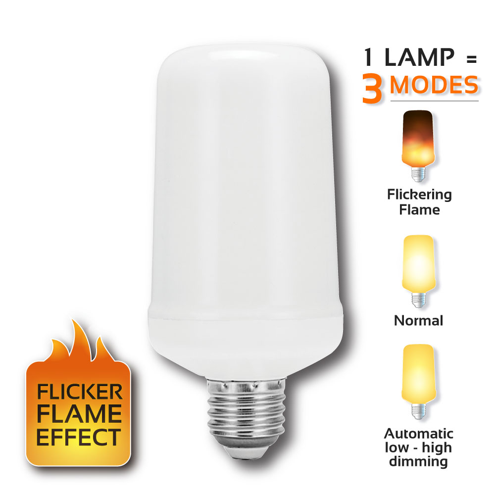G1050 LED Flicker Flame Lamp